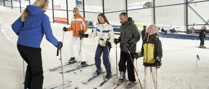 Lessen skiën en snowboarden
